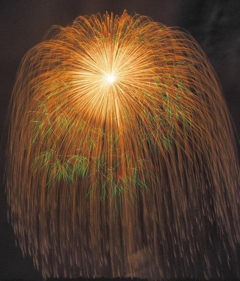 片貝まつりの花火
