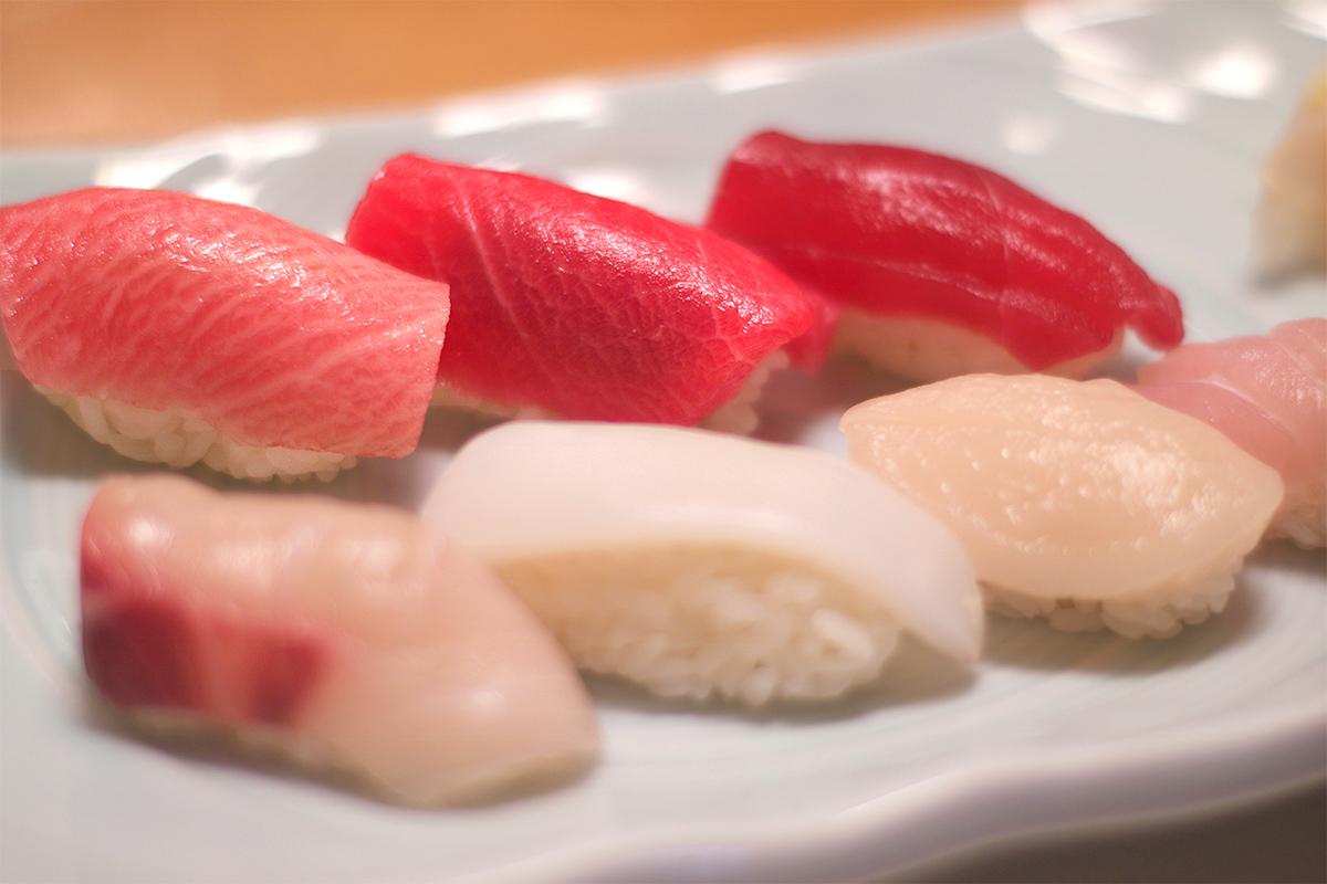 健保でお寿司