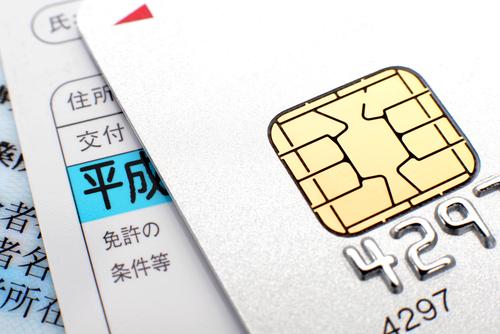 クレジットカードと免許証